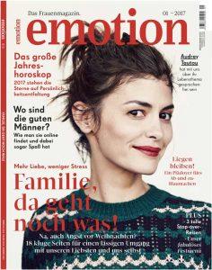 Heftcover Frauenmagazin Emotion 01_2017