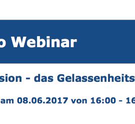Kostenloses Webinar: Einführung in die Introvision als Gelassenheitstraining am 8.6. von 16-16.45 Uhr
